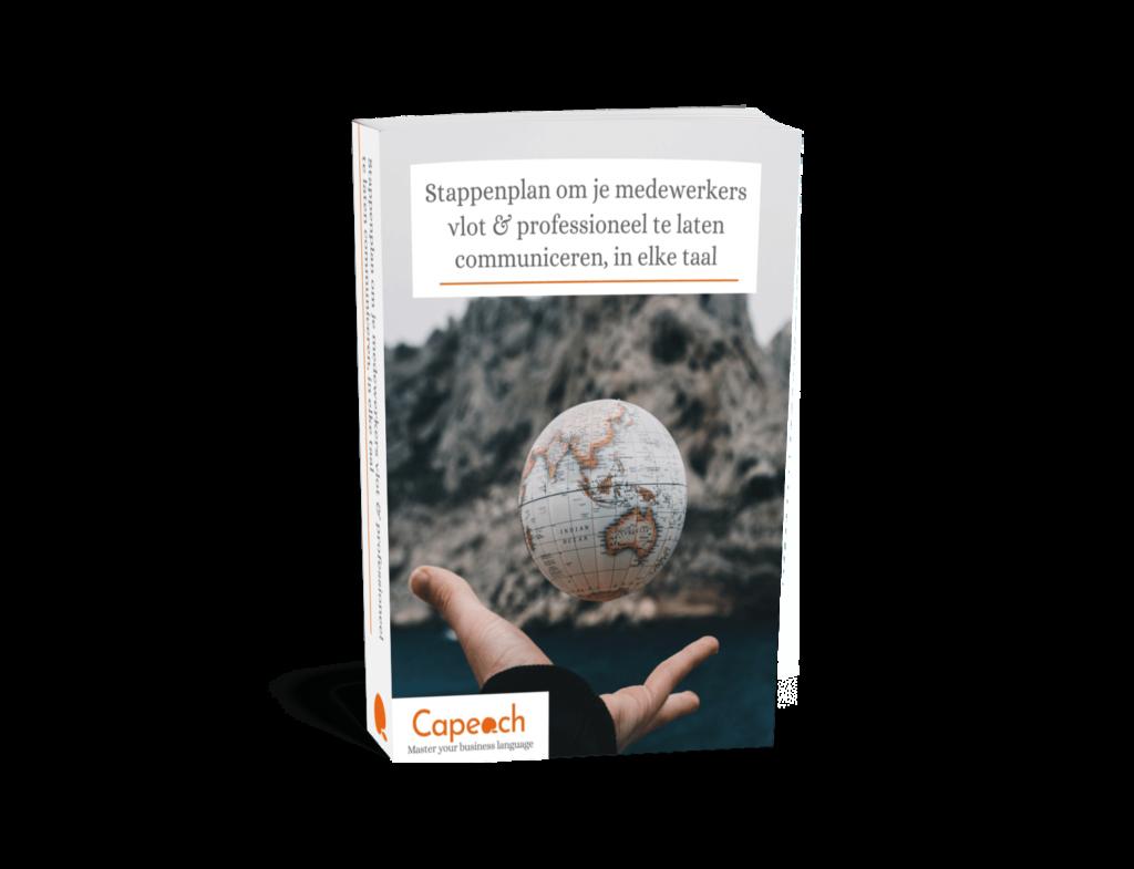 Download gratis: Stappenplan om je medewerkers vlot te laten communiceren, in elke taal