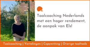Taalcoaching Nederlands