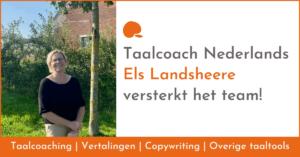 Els Landsheere versterkt Capeach